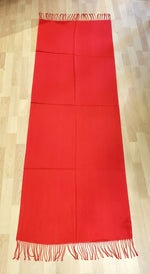 Load image into Gallery viewer, Cashmere Blend Pashmina in Red