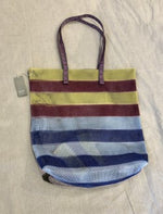 Load image into Gallery viewer, Epice Mesh Tote Bag in Lido Stripe