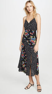 Saige Dress in Black Multi