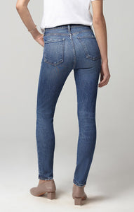 Olivia High Rise Slim Fit Jean in Moments