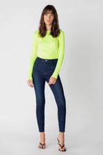 Load image into Gallery viewer, Leenah High Rise Ankle Jean