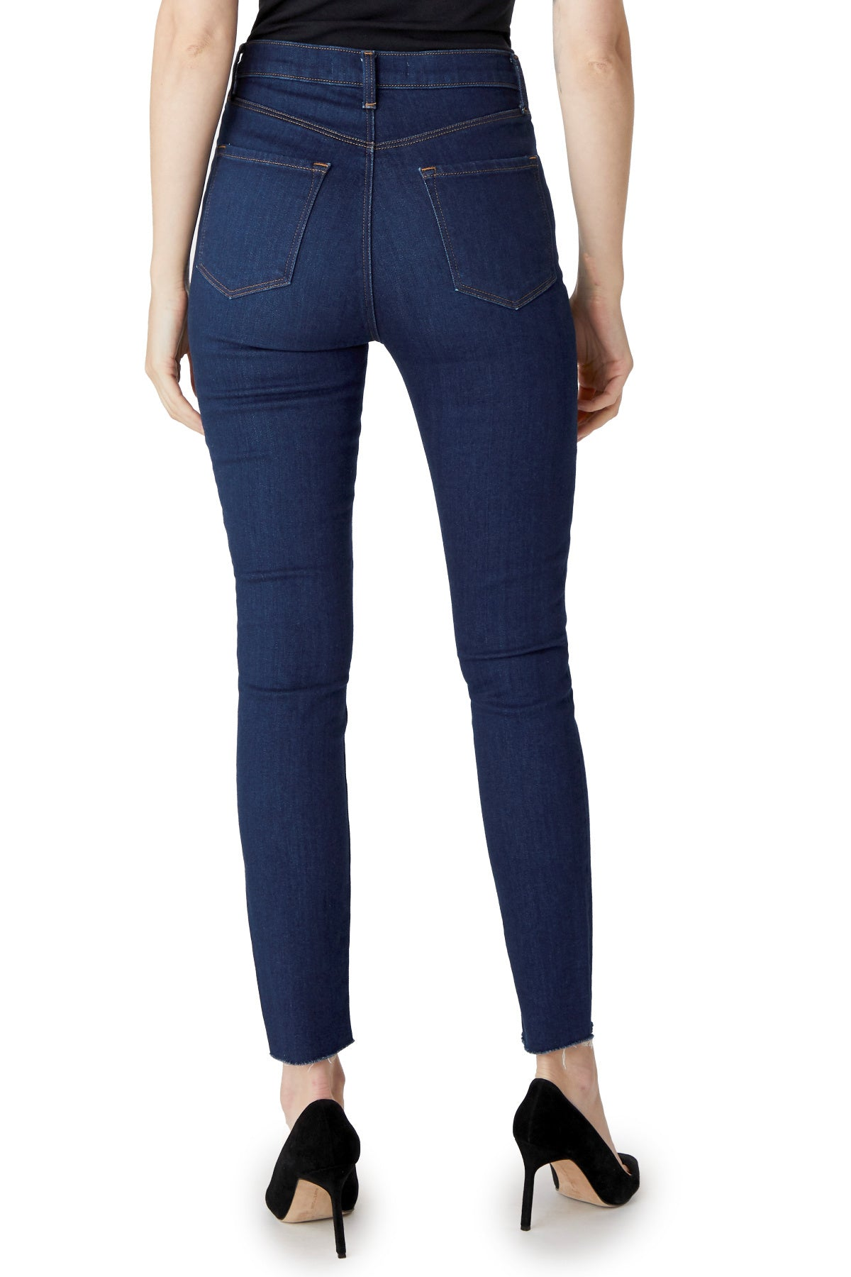 Leenah High Rise Ankle Jean