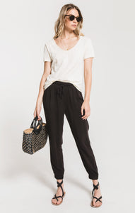 Piedmont Jogger Pant in Washed Black