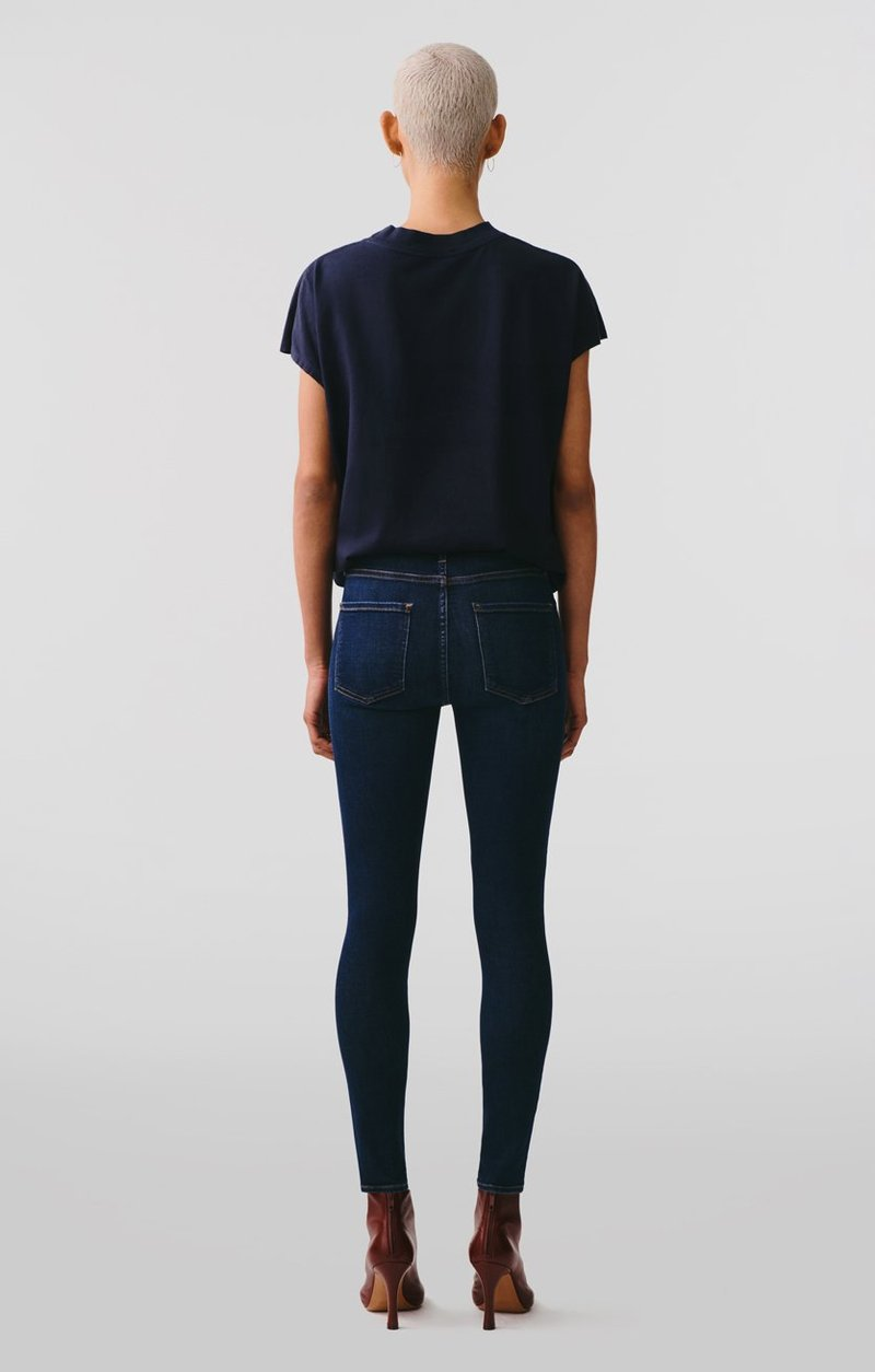 Sophie Mid Rise Ankle Skinny Jean in Prelude