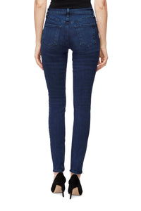 Maria High Rise Skinny Jean in Radiowave
