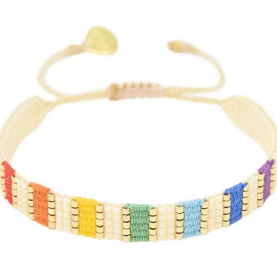 Yeyi Bracelet in Rainbow Multi