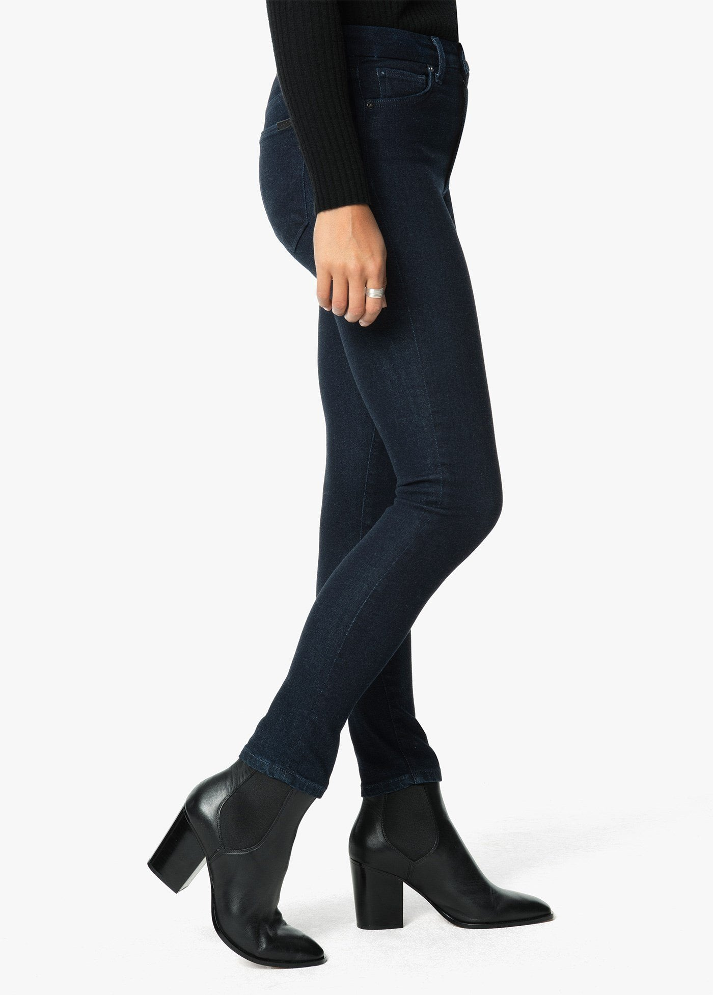 High Rise Honey Skinny Ankle Jean in Sweeney