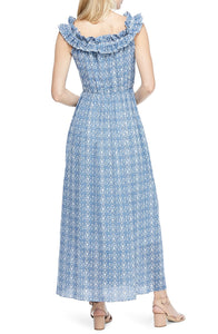 Tessa Maxi Dress in Bluebird