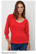 Load image into Gallery viewer, Dalia Puff Sleeve Top in Paradise