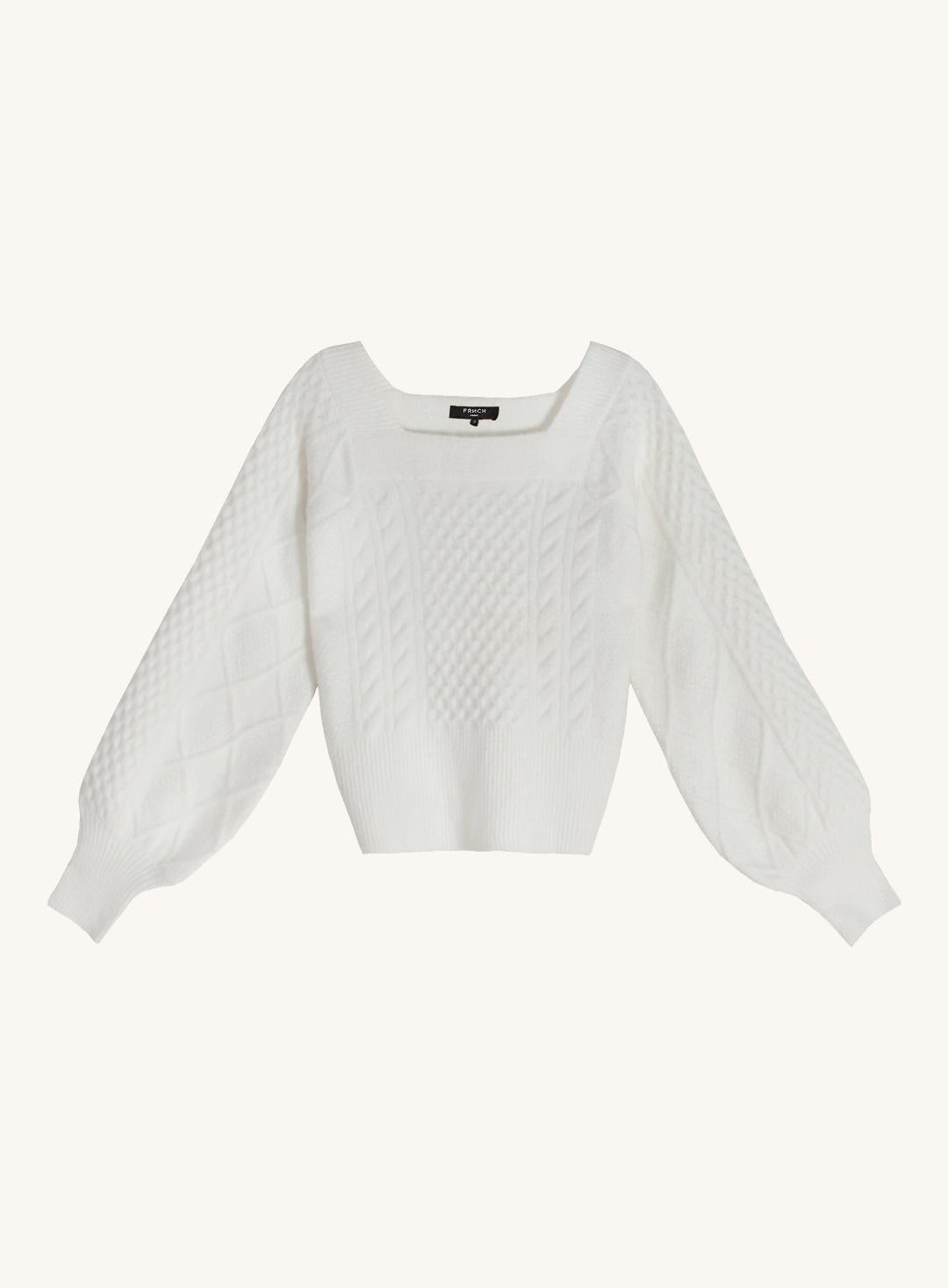 Noalig Sweater in White