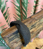 Load image into Gallery viewer, Rattan Headband in Black