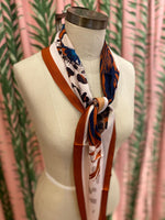 Load image into Gallery viewer, Safari Animal Scarf in Brown Combo
