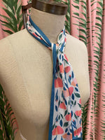 Load image into Gallery viewer, Skinny Scarf in Pink Tulip