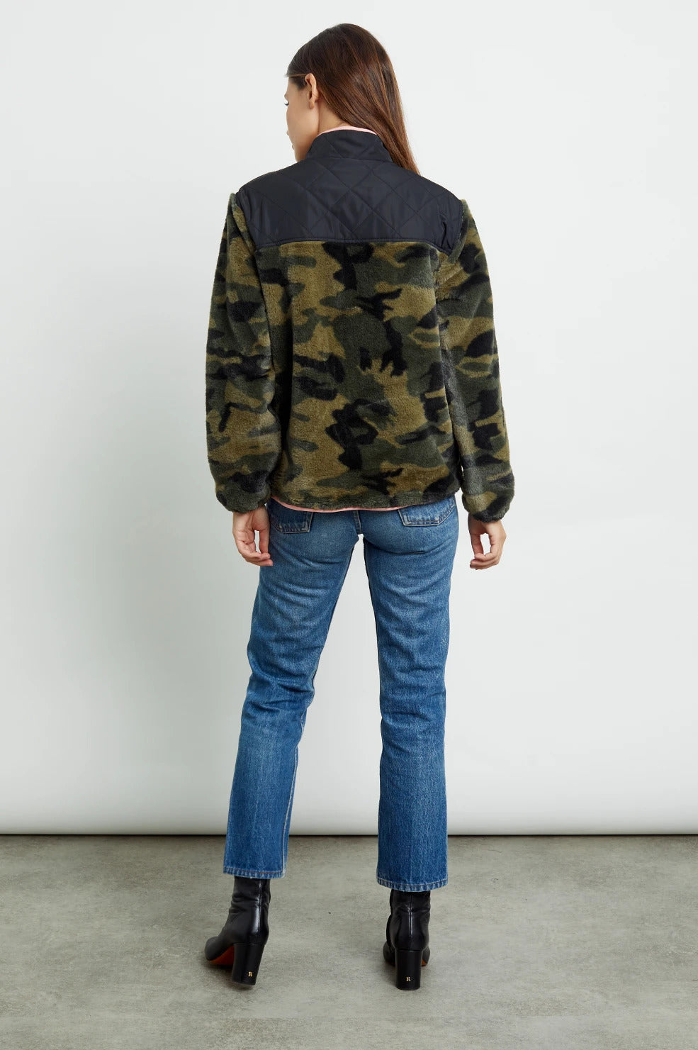 Wesley Jacket in Green Camo