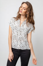 Load image into Gallery viewer, Whitney Blouse in White Mocha