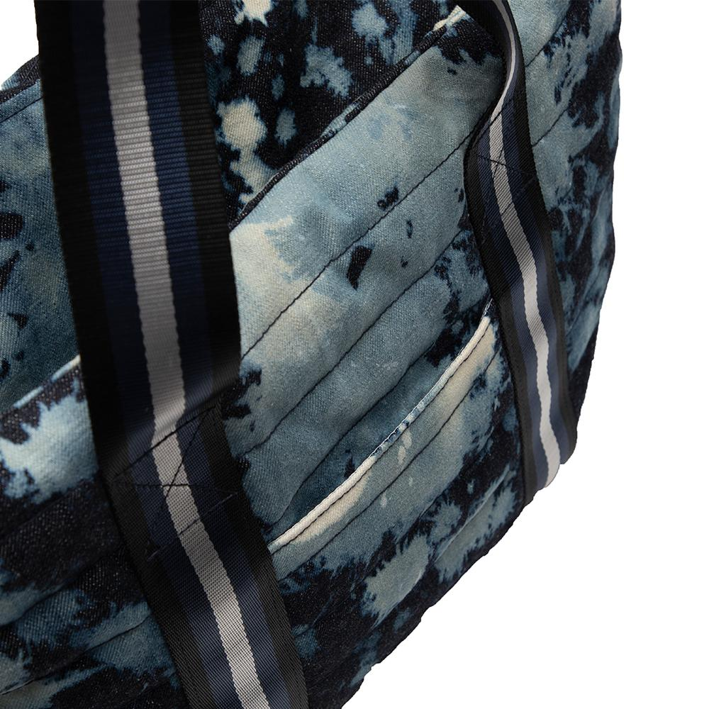 Wingman Bag in Denim Tie Dye
