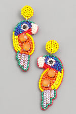 Load image into Gallery viewer, Mini Beaded Parrot in Multi