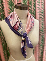 Load image into Gallery viewer, Zebra Cafe Scarf in Lavender Combo