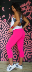 Pink Basic SUPPLEX® Capri