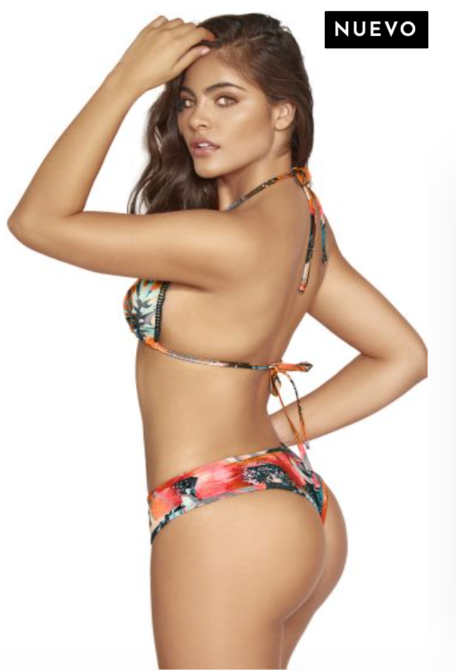 Miami Splash Thong Bikini