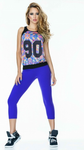 Blue Basic SUPPLEX® Capri