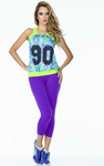 Violet Basic SUPPLEX® Capri