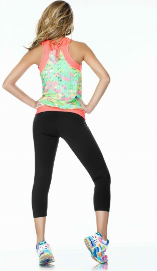 Neon Yellow Basic SUPPLEX® Capri