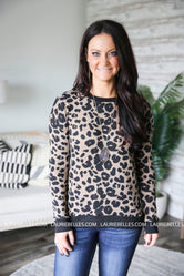 Wild Thoughts Leopard Sweater