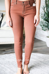 Grace and Lace Colored Jeggings