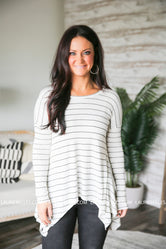 Grace and Lace Everyday Favorite Ribbed Top