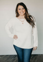 Curvy Serina Sweater