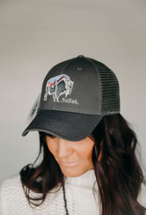 Grey SoDak Buffalo Hat