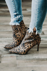 Rawr Suede Pointed-Toe Ankle Booties