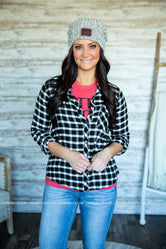Pennie Plaid Top