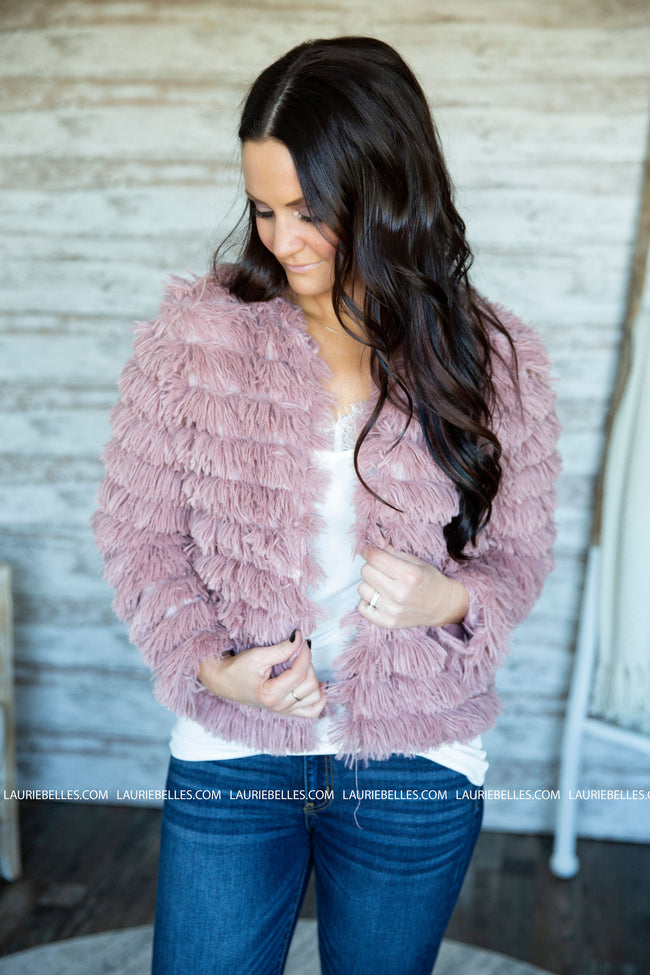 Into You Fur Jacket
