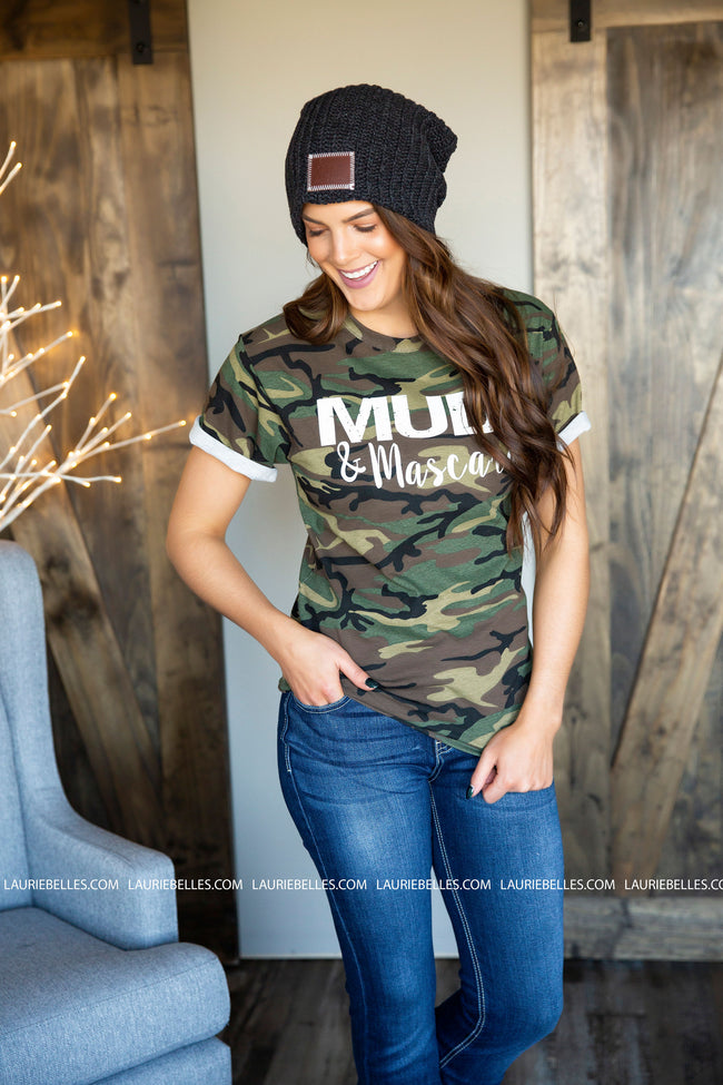 Mud and Mascara Camo Graphic Tee