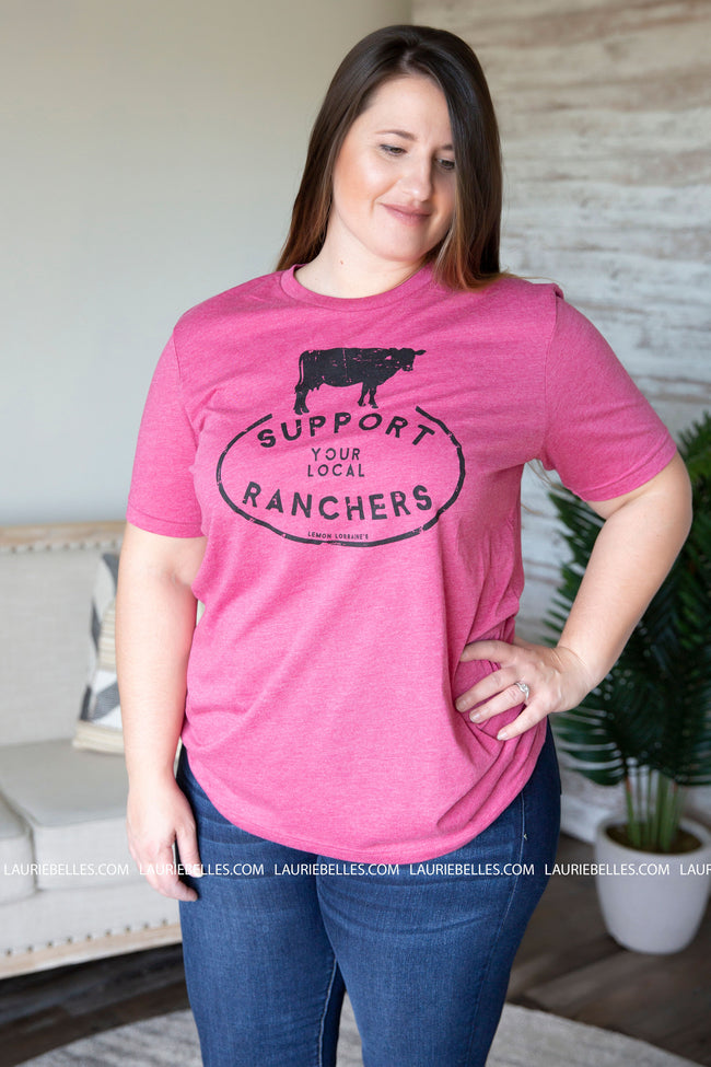 Support Local Ranchers Graphic Tee