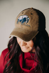 SoDak Buffalo Trucker Hat