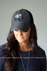 Black SoDak Buffalo Hat
