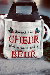 Spread The Cheer Beer Caddy