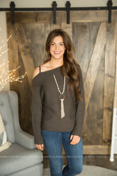 Keep Em Guessing Dolman Sweater