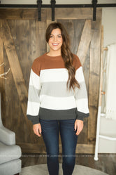 Nola Striped Sweater