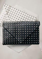 Studded For Style Clutch