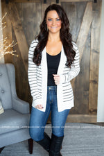 Chleo Striped Cardigan