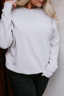 Brunch Babe Graphic Sweatshirt
