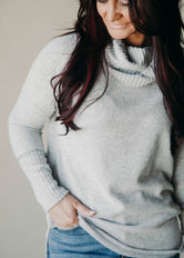 Chilly Situation Cowl Neck Top