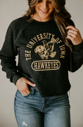 Hawkeyes Cropped Sweatshirt