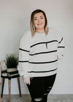 Curvy Sweater Weather Knit Sweater