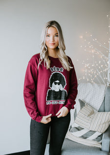 Bebe It's Cold Outside Sweatshirt