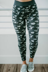 Kenie Camo Leggings - FINAL SALE